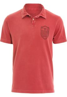 Camisa Polo Stone Brasao Mc