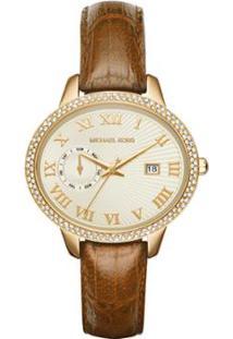 R  1037,50. Zattini Relógio Feminino Dourado Michael Kors ... c701d1df27