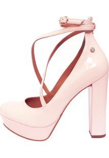 Scarpin Le Bianco Diva Rosa