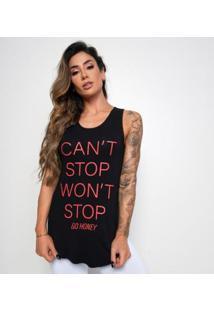 Regata Fitness Viscolycra Cannullt Stop Feminina - Feminino