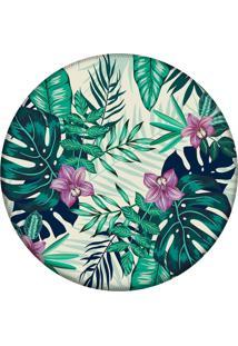 Tapete Love Decor Redondo Wevans Flowers Tropical 94Cm