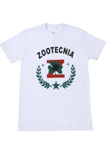 Camiseta Top Bulls Zootecnia Masculina - Masculino-Branco
