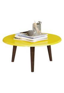 Mesa De Centro Lyam Decor Amarelo