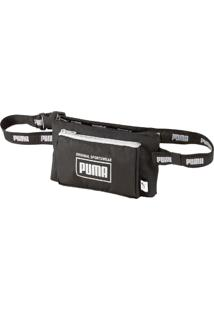 Pochete Puma Sole Waist Bag - Preta