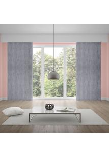 Cortina Home Design 2,80X2,30M Milano Corttex Cinza Cinza