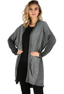 Cardigan Its&Co Stripe Mescla