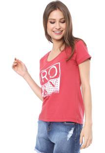 Camiseta Roxy Danve Vermelha