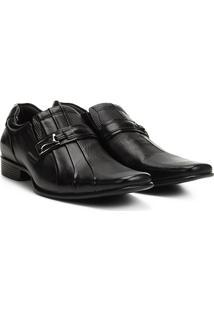 Sapato Social Couro Rafarillo Office - Masculino-Preto