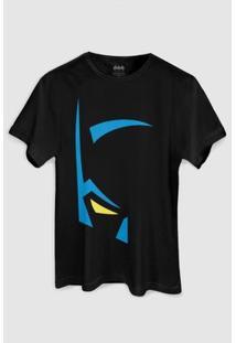 Camiseta Dc Comics Batman Mask Bandup! - Masculino-Preto