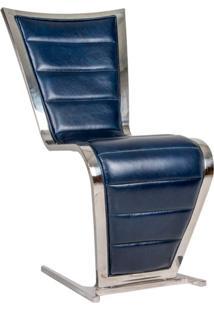 Cadeira De Couro Moste