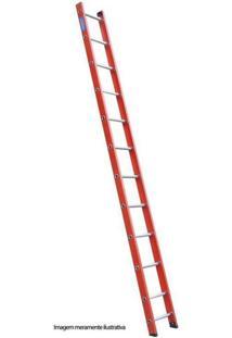 Escada De Fibra De Vidro Alulev Singela, 11 Degraus - Fs611