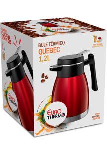 Bule Térmico Quebec 1,2L Vermelho Bt5508-Vm Euro Home