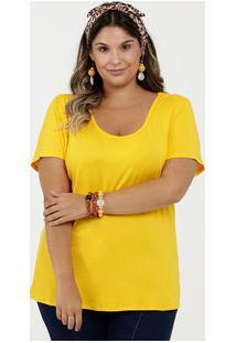 Blusa Feminina Básica Plus Size Marisa