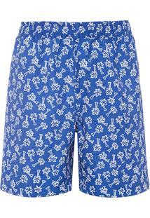 Short Masculino Coqueiros - Azul