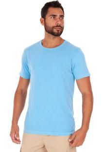 Camiseta Side Walk Camiseta Canguru Pixel Azul