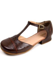 Sapato Miuzzi Tabaco / Chocolate Ref: 3201 - Kanui