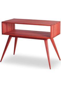 Aparador Dominoes Estrutura Vermelha 73Cm - 61463 - Sun House