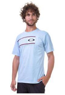 Camiseta Oakley Long Belt Tee Masculino - Masculino