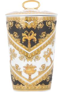 Versace Home I Love Baroque Scented Candle - Branco