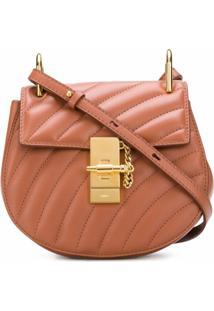Chloé Drew Bijou Crossbody Bag - Marrom