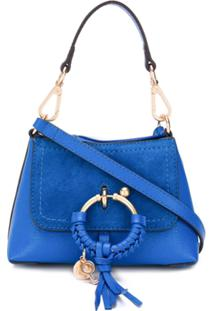 See By Chloé Bolsa Transversal Joan Mini - Azul
