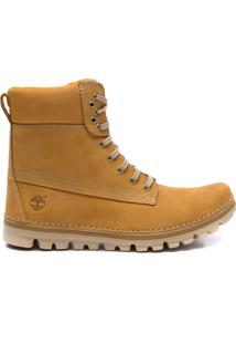 Bota Masculina Brookton Classic Wheat - Marrom