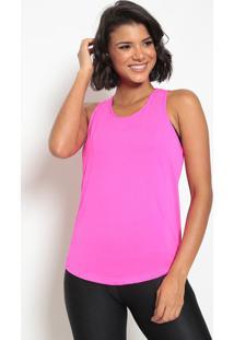 Regata Nadador Em Micro Furos- Rosa Neon- Patrapatra