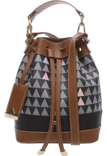 Bucket Bag Triangle Black | Schutz