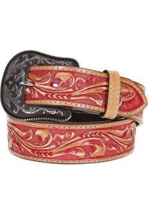 Cinto Arizona Belts Vermelho