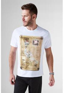 Camiseta Estampada Pica Selo Reserva Masculina - Masculino