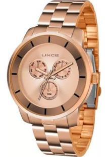 Relógio Lince Lmr4478L R1Rx Feminino - Feminino-Cobre