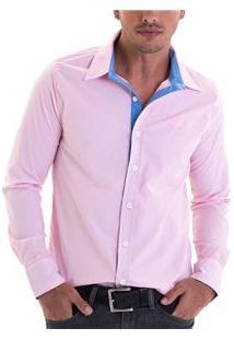Camisa Masculina 4140302050011 Opera Rock - Rosa