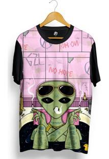 Camiseta Bsc No Hope Full Print - Masculino