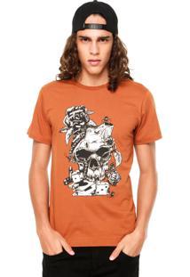 Camiseta New Skate Antz Caramelo