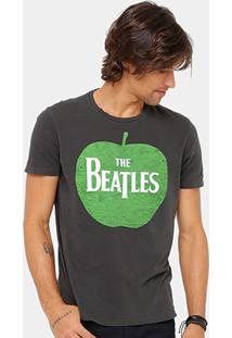 Camiseta Ellus Green Apple The Beatles Masculina - Masculino