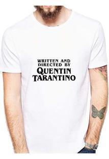 Camiseta Coolest Tarantino Masculina - Masculino-Branco