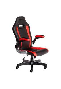 Cadeira Gamer Max Racer Storm Target, Até 110Kg, Vermelho - Tgt-01-Lh