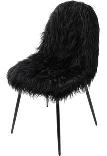 Cadeira Glamour – Preto