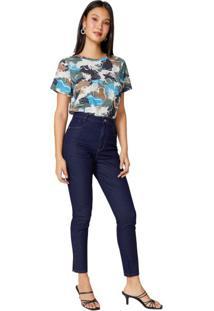Calça Jeans Skinny Pence Bolso