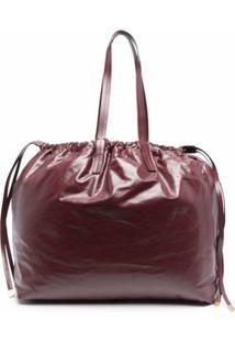 Isabel Marant Étoile Drawstring Tote Bag - Vermelho
