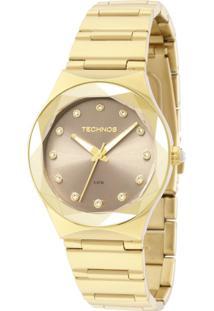 Relógio Technos Feminino Crystal Analógico - 2035Mfh/4C