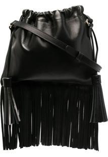 A.P.C. Louise Leather Shoulder Bag - Preto