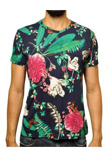 Camiseta Andy Roll Clothing Drye Multicor