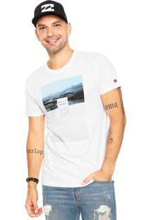 Camiseta Billabong Witness Branca