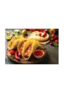Painel Adesivo De Parede - Comida Mexicana - Restaurante - 1788Pnm