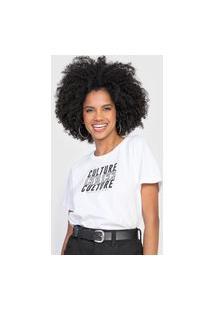 Camiseta Colcci Culture Branca