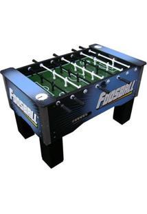 Mesa Foosball Embutido Boneco Alumínio - Unissex-Azul