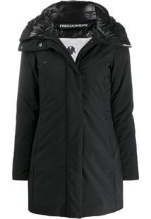 Freedomday Hooded Lubiana Jacket - Preto