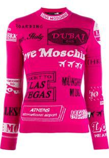 Love Moschino - Rosa