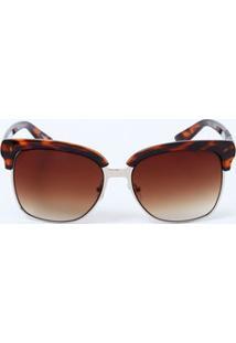 Óculos Feminino Sol Quadrado Marisa
